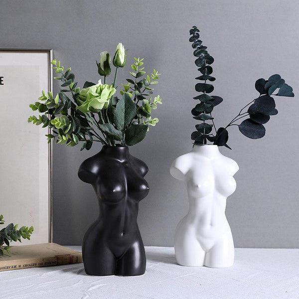 Ceramic Body Shapes Vases