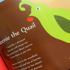 Queenie The Quail From My A-Z Of Animals By Bridget Clarke - Parade Handmade