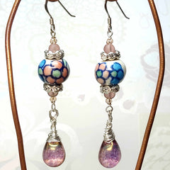 Dreamy Delight Earrings Floral by Lapanda Designs - Parade Handmade