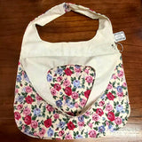 Floral Shopping Tote, By Parade. Parade-Handmade