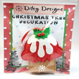 Christmas Ornament, Cup Cake, By Ditsy Designs. Parade-Handmade