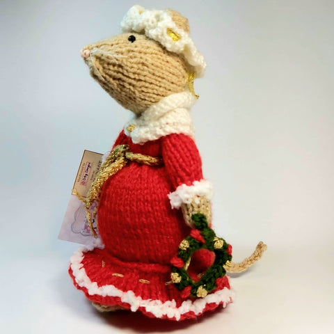 Mrs. Claus Mouse, By Ditsy Designs. Parade-Handmade