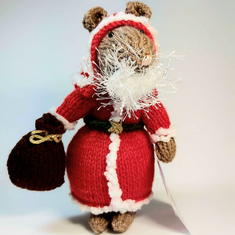 Santa Claus Mouse, By Ditsy Designs. Parade-Handmade