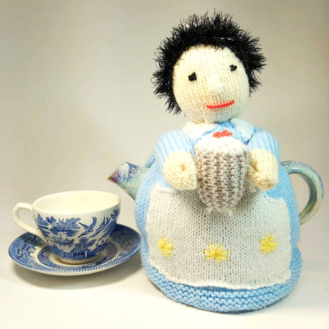 Cup Cake Lady Tea Cosy With Cup, By Shoreline. Parade-Handmade