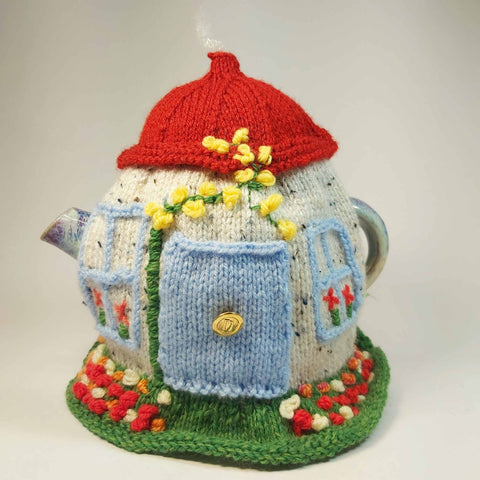 Country Cottage Tea Cosy, By Shoreline. Parade-Handmade