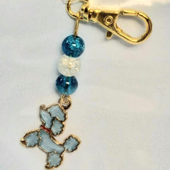 Poodle Keyring or Bag Charm By Ditsy Designs - Parade Handmade