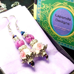 Dreamy Delignt Earrings,'Floralicious', By Lapanda Designs - Parade Handmade