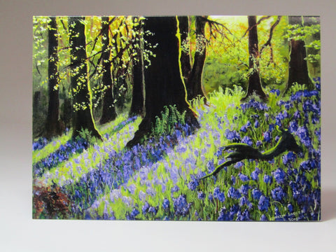 Art Card. 'Rehins Wood', by Noreen Sadler - Parade Handmade