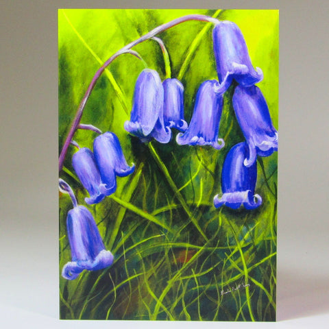Art Card, 'Bluebells', by Nuala Bret-King - Parade Handmade