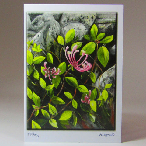 Art Card, 'Honey Suckle', by Nuala Brett-King - Parade Handmade