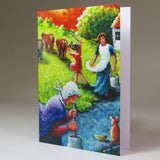 Art Card, 'Jobs for the Girls IV', by Noreen Sadler - Parade Handmade
