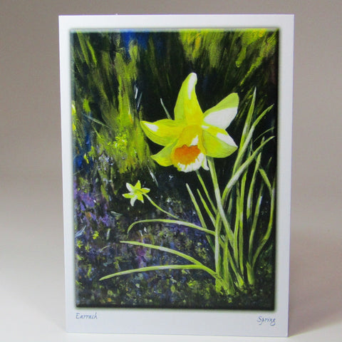 Art Card, 'Spring Daffodils', by Nuala Brett-King - Parade Handmade