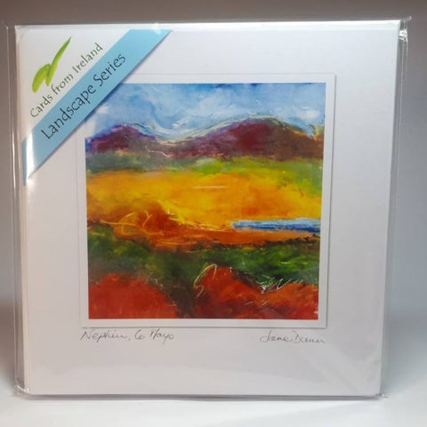 Art Cards Landscape Series Gift Pack, Four Scenes, By Jane Dunn - Parade Handmade