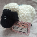 Baa! Deirdre, the black faced sheep from Newport, By Ditsy Designs - Parade Handmade