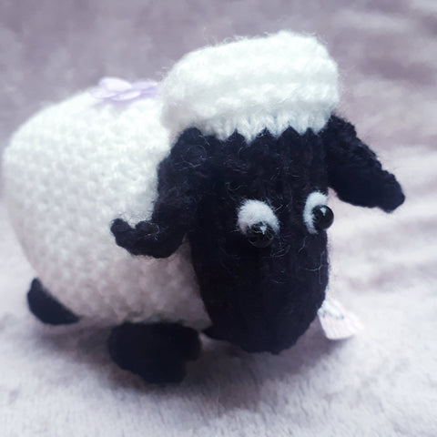Baa! Flo, the black faced sheep from Newport, By Ditsy Designs - Parade Handmade