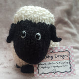 Baa! Róisín, the black faced sheep from Newport, By Ditsy Designs - Parade Handmade