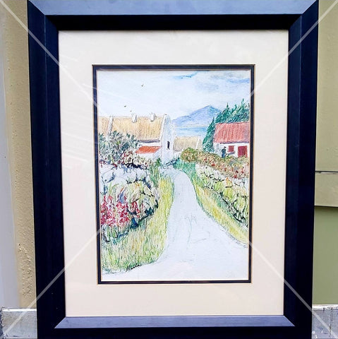 Back Home In Mayo, Water Colour and Water Colour Pencil, By Nuala Brett-King - Parade Handmade