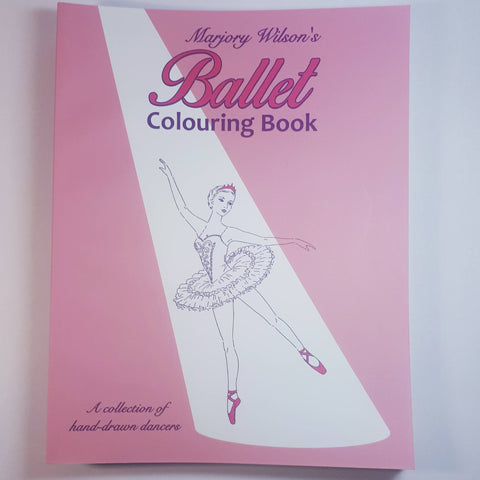 Ballet Colouring Book, By Marjory Wilson - Parade Handmade