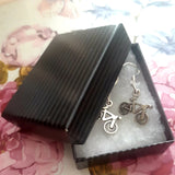 Bicycle Charm Earrings, By Lapanda Designs - Parade Handmade