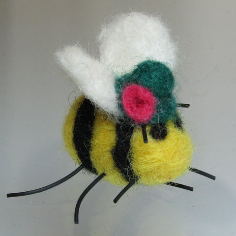 Bumble Bee Brooch, By Parade Handmade - Parade Handmade