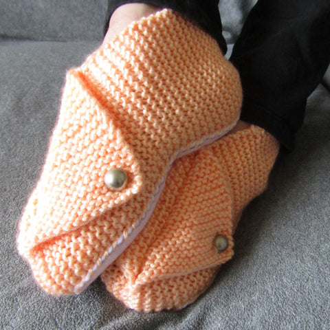 Chinese Style Little Peach Slippers, By Shoreline - Parade Handmade