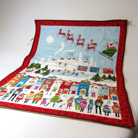 Choose a festive handmade Advent calender as a family heirloom, By Sew What's New - Parade Handmade