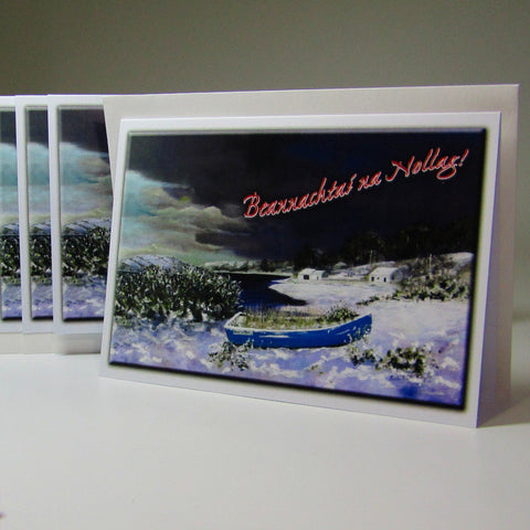 Christmas Cards x Six, 'Ceann Na Tra', by Nuala Brett-King - Parade Handmade