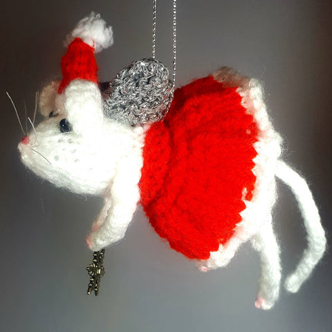 Christmas Flying Mouse Modified Alan Dart Pattern, By Ditsy Designs - Parade Handmade