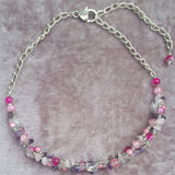 Chunky Cluster Necklace In Pink, By Lapanda Designs - Parade Handmade