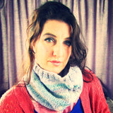 Cowl Scarf With Aran Stitch, By Bridie Murray - Parade Handmade