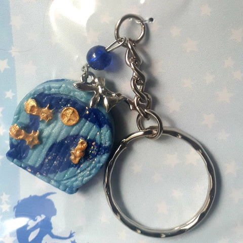 Cute Blue Keyring, By Ditsy Designs - Parade Handmade