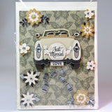 Deluxe Wedding Card, by Ann Henrick - Parade Handmade