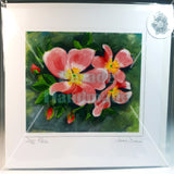Dog Rose Art Card, By Jane Dunn - Parade Handmade