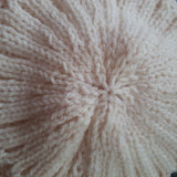 Fabulous Aran Cable Hat In Cream, By Jo's Knits - Parade Handmade