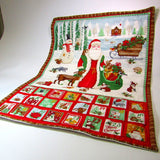 Festive Advent calender with treat pockets, By Sew What's New - Parade Handmade