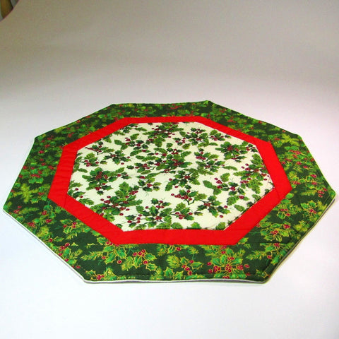 Festive Octagon Table Centre Piece, By 'Sew What's New', Bernadette Walsh - Parade Handmade