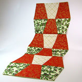Festive Patchwork Table Runner, By 'Sew What's New', Bernadette Walsh - Parade Handmade