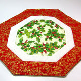 Festive, Patchwork Place Mat, By 'Sew What's New', Bernadette Walsh - Parade Handmade