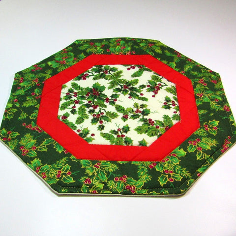 Festive, Patchwork Table Mat, By 'Sew What's New', Bernadett Walsh - Parade Handmade