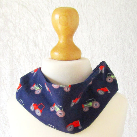 Funky Kids' Headband/Neck Warmer With Tractors, By JaDa Crafts Ireland - Parade Handmade