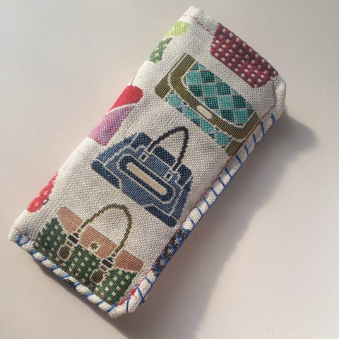 Glasses and Phone Pouch With Handbags, By Parade - Parade Handmade
