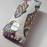 Glasses or Phone Pouches With Fish Images, By Parade - Parade Handmade