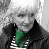 Green Felted Neck Scarf With Clasp, By Parade Handmade - Parade Handmade