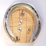 Horseshoe Fairy Door With Spirals, By Liffey Forge - Parade Handmade