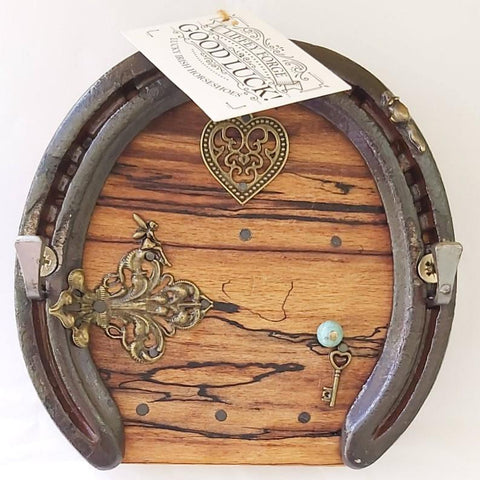 Horseshoe Keyrack Fairy Door, By Liffey Forge - Parade Handmade