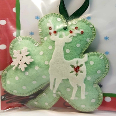 Deer Themed Christmas Ornament By Ditsy Designs - Parade Handmade
