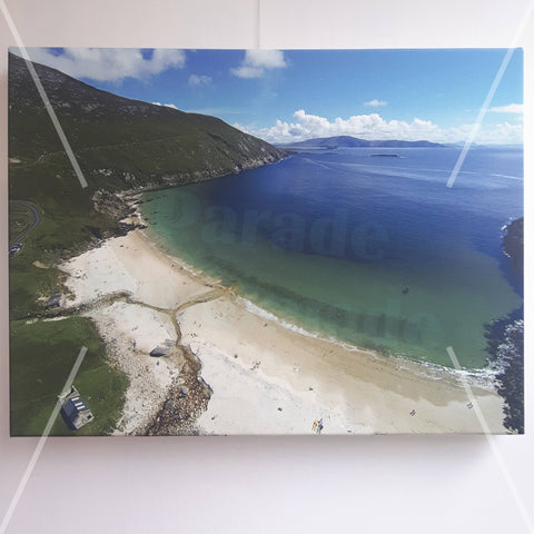 Keem Bay Aerial Shot, Canvas Print, by Kevin Smith - Parade Handmade