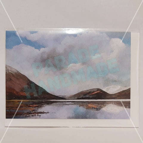 'Leenane', Art Card and Envelope, By Nuala Brett-King - Parade Handmade