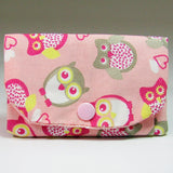 Little Pink Coin Purse With Owls,  By JaDa Crafts Ireland - Parade Handmade