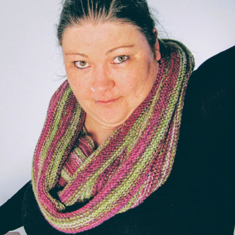 Long, Hand Knit, Ribbed Scarf Accessory By Shoreline - Parade Handmade